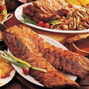 bbq-pork-platter