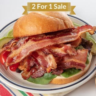2 For 1 Pecan Smoked Bacon