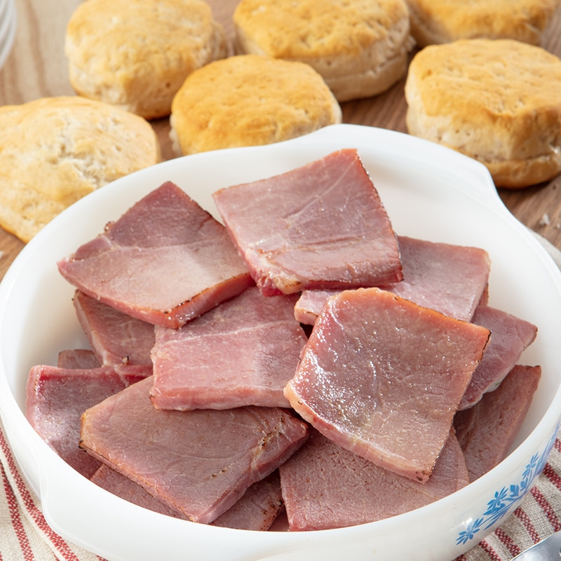 Country Ham Biscuit Portions