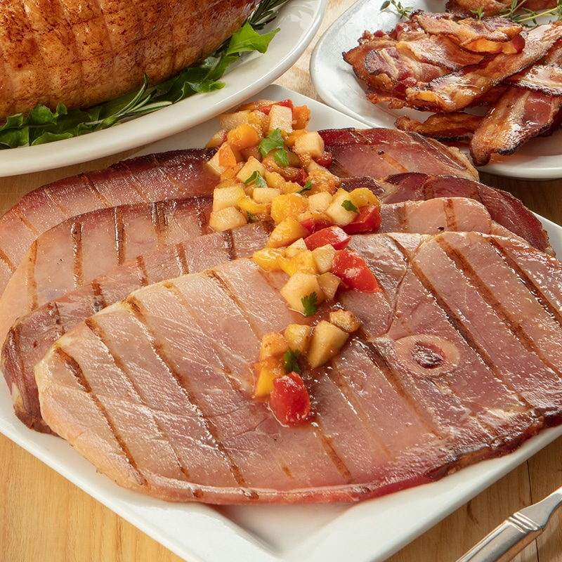 Country Ham Center Slices