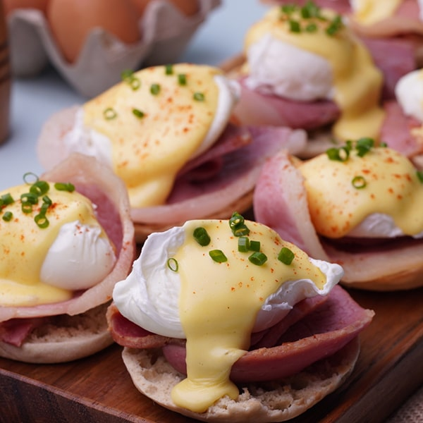 Country Ham and Eggs Benedict