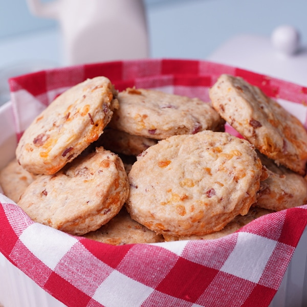 Country Ham and Cheese Biscuits