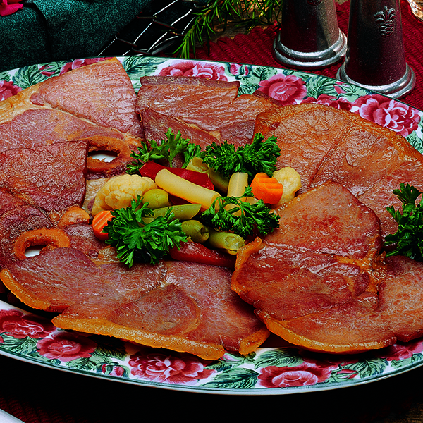 Fried Country Ham Slices